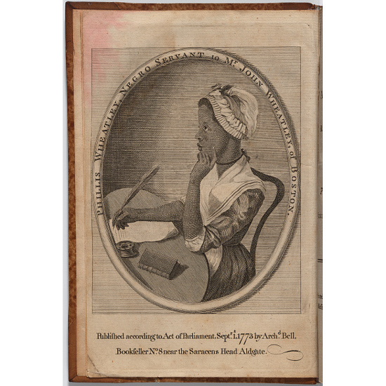image for Phillis Wheatley