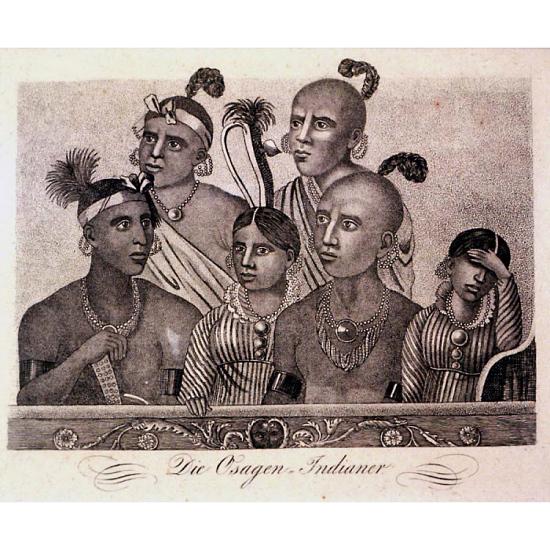 image for Die Osagen Indianer