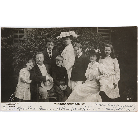 image for Theodore Roosevelt Family
