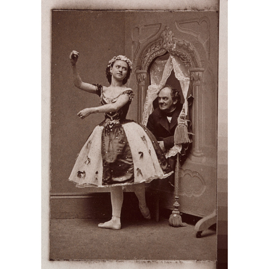 image for Phineas T. Barnum and Ernestine de Faiber
