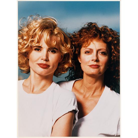 image for Geena Davis and Susan Sarandon