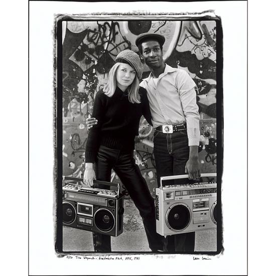 image for Tina Weymouth and Grandmaster Flash, NYC, 1981