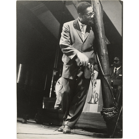 image for Dizzy Gillespie at the bandstand, Newport Jazz Festival, RI