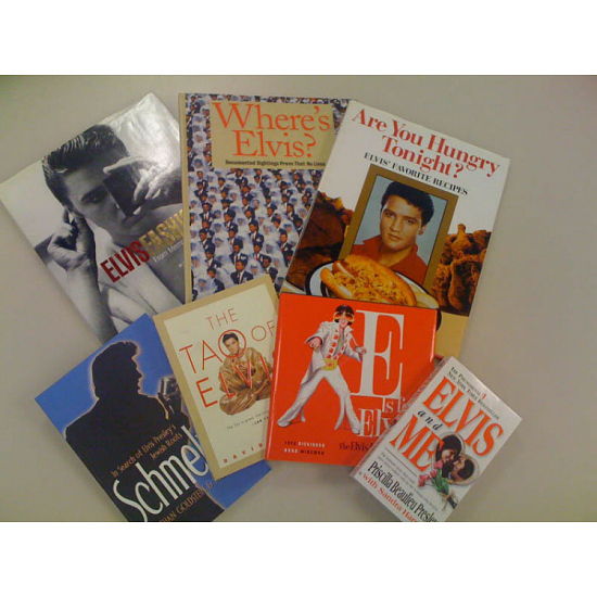 image for Elvis Presley Books