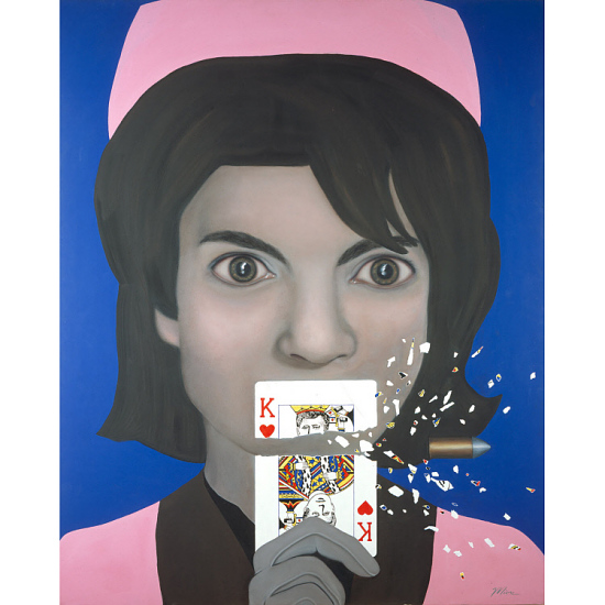image for Jacqueline Kennedy, the King of Hearts - Stop Action Reaction