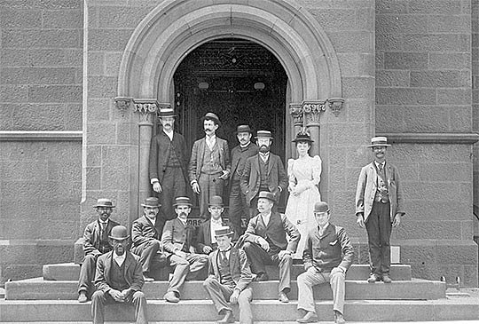 International Exchange Service Staff 1891