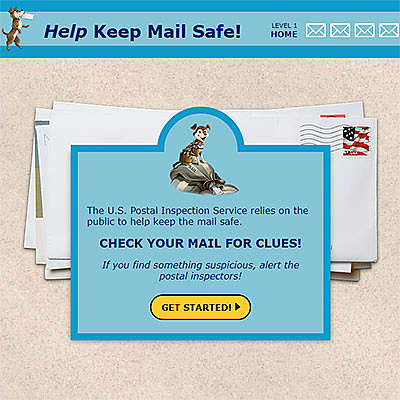 Postal museum game sample