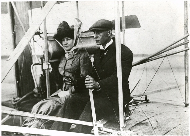 Wilbur Wright and Mrs. Edith Berg