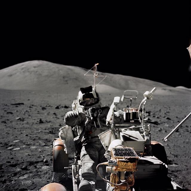Schmitt Lunar Roving Vehicle