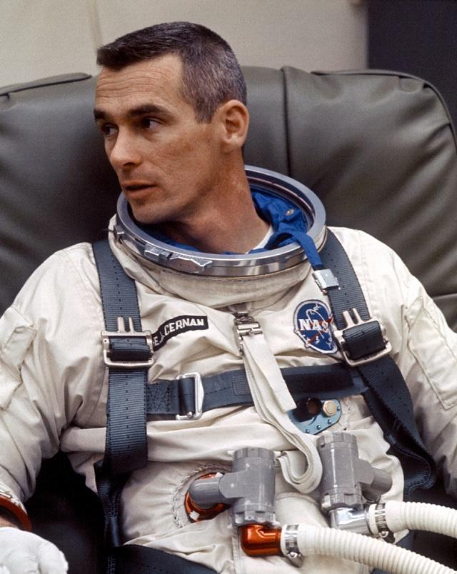 Astronaut Eugene Cernan