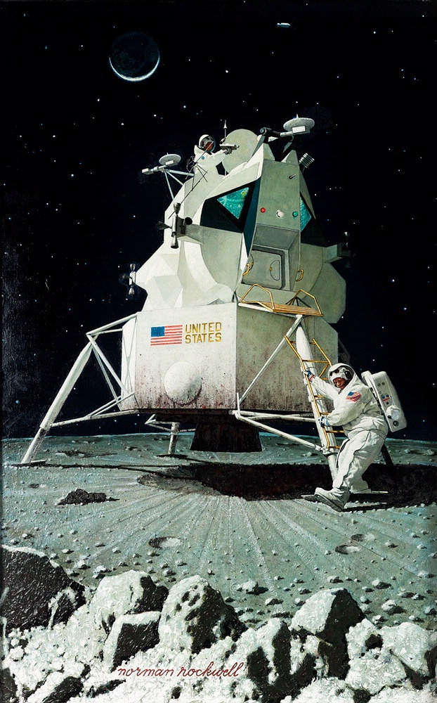 Man's First Step on the Moon