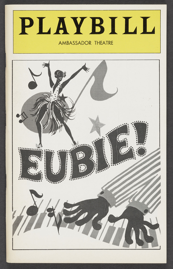 Image for Playbill for Eubie!