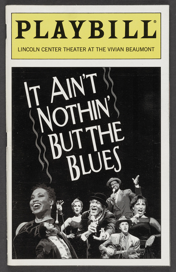 Image for Playbill for It Ain't Nothin' But the Blues