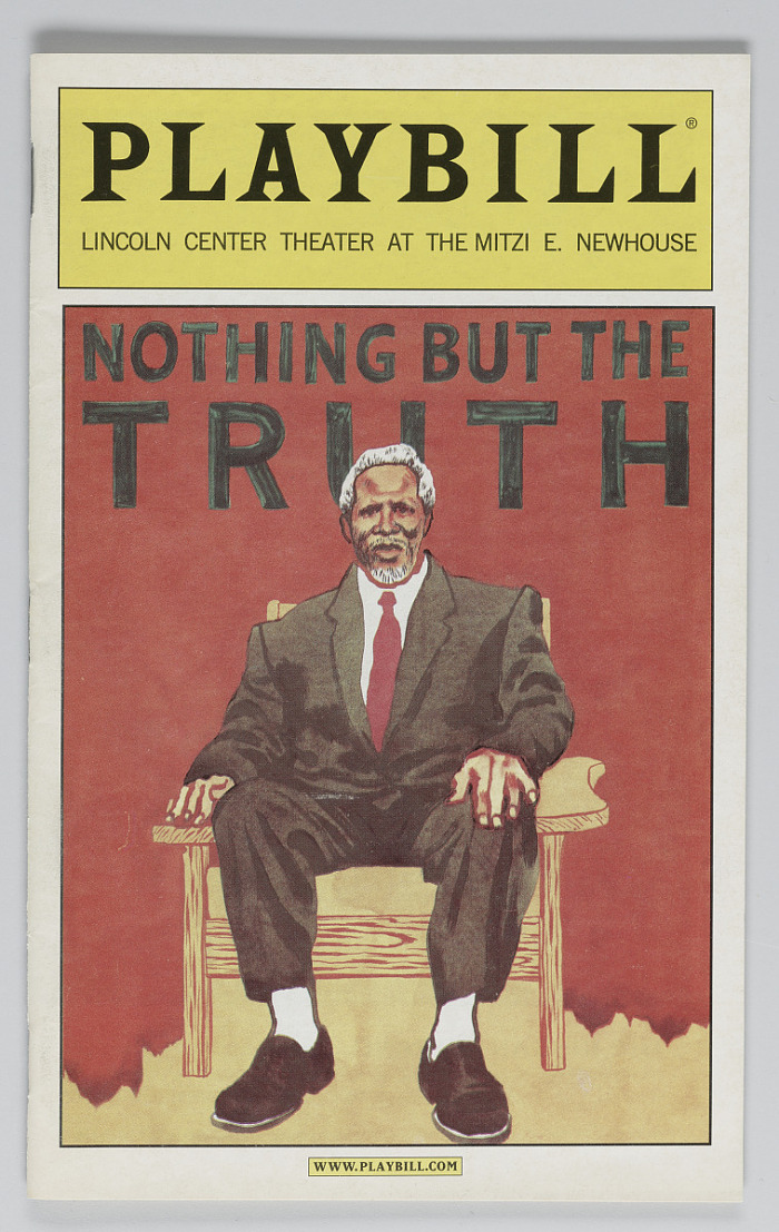 Image for Playbill for Nothing But The Truth