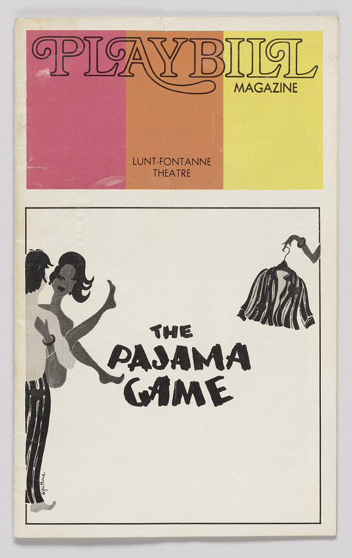 Image for Playbill for The Pajama Game
