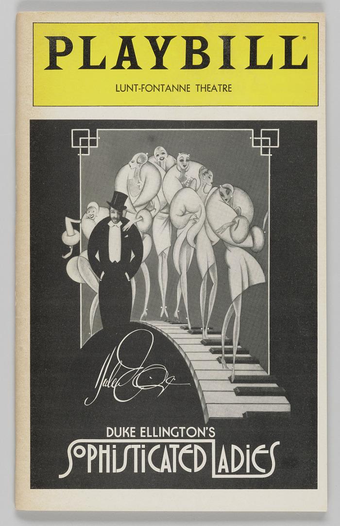 Image for Playbill for Duke Ellington's Sophisticated Ladies