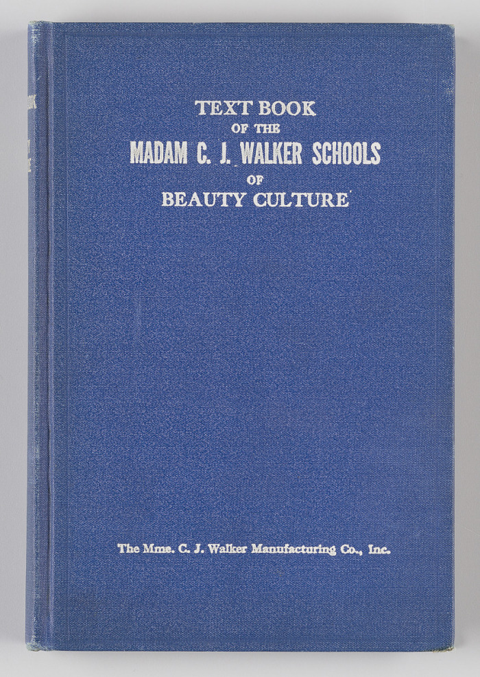 Text Book Of The Madam C J Walker Schools Of Beauty Culture National Museum Of African American History And Culture