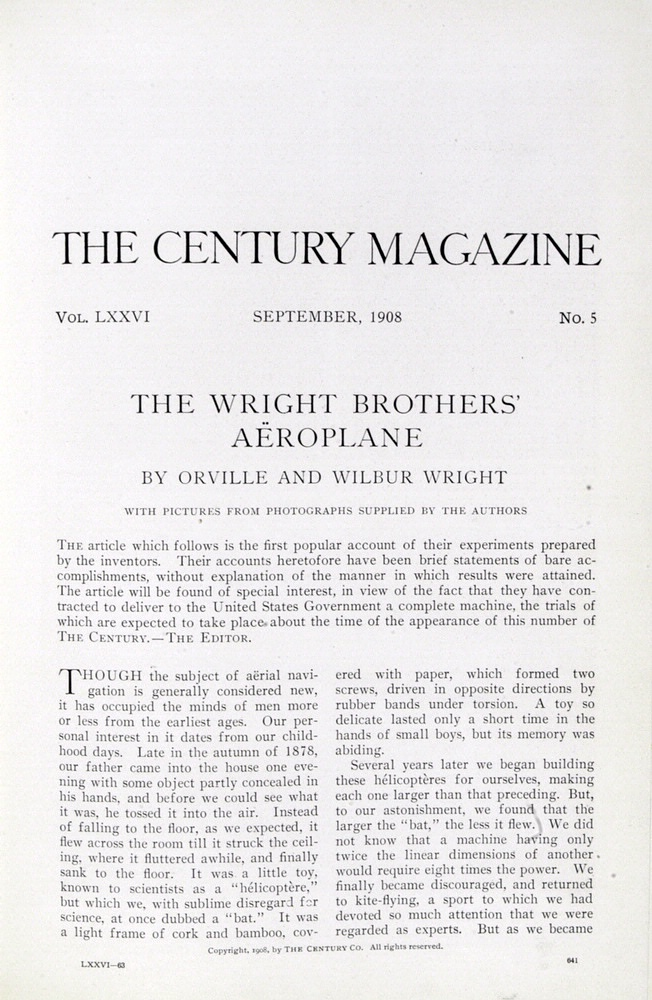 Issue of Century Magazine