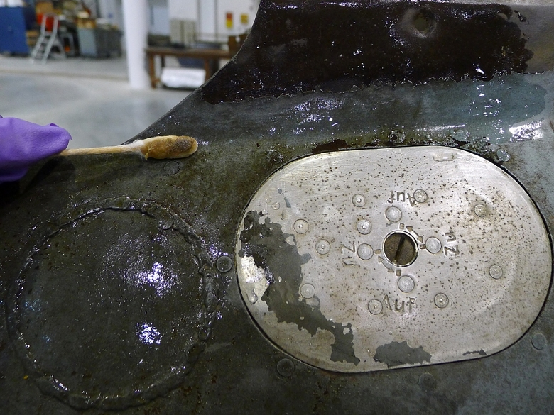 Stain Reduction on Horten Aircraft