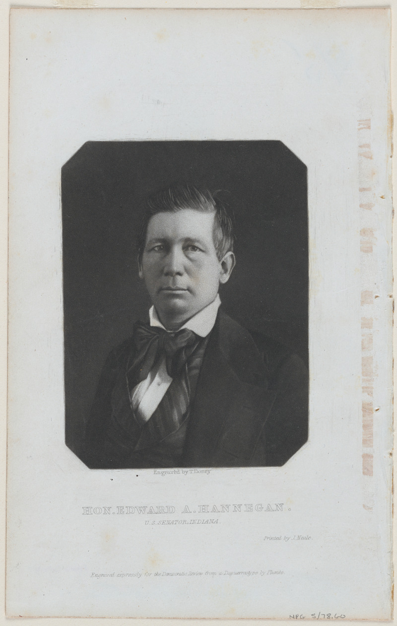 Edward Allen Hannegan | Smithsonian Institution