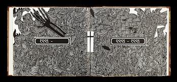 Photo of Artist book: On the surface : art and technique of relief printmaking published by Katrine Harries Print Cabinet, 1996. Malcolm Payne. African Art Museum artists' books exhibit research image.