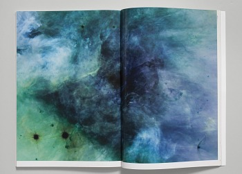 Photo of Artist book: Negative space, by Mungo Thomson, 2007.