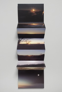 Photo of Artist book: The green ray and other suns, by Tacita Dean, 2001.