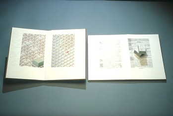Photo of Artist book: Elements of geometry by Euclid by Sjoerd Hofstra, 1994.
