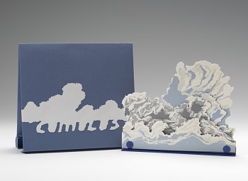 Photo of Artist book: Cumulus by Thomas Parker Williams, 2009.