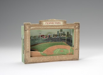 Photo of Artist book: Fenway Park by Laura Davidson, 2007-2008.