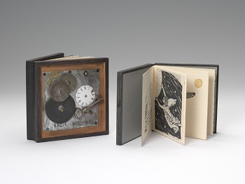 Photo of Artist book: Visible Invisible by Laura Davidson, 1992.