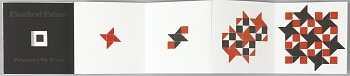 Photo of Artist book: Pinwheel pulsar, by Esther K. Smith, 2013.