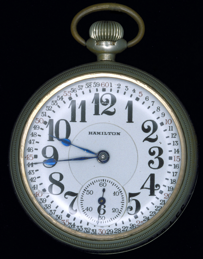 Conductor's watch, Hamilton Model 950