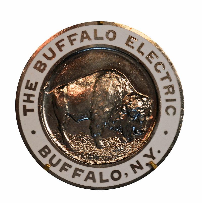 Buffalo Electric Manufacturer's Emblem