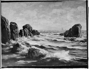 Painting of the Sea by William Henry Holmes