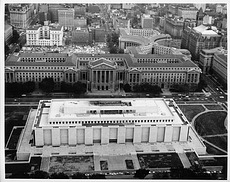 Aerial View of Museum of History and Technology Construction