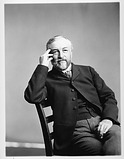Secretary Samuel P. Langley, by Unknown, c. 1895, Smithsonian Archives - History Div, 2002-12174.