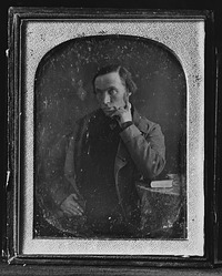 Robert Dale Owen, by Unknown, c. 1840s, Smithsonian Archives - History Div, 2002-12184.