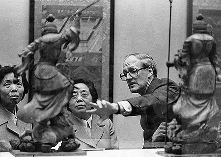 Thomas Lawton with Madame Cho Lin