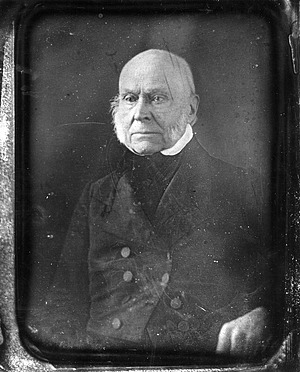 John Quincy Adams Portrait, by Unknown, c. 1840s, Smithsonian Archives - History Div, 2002-32265.