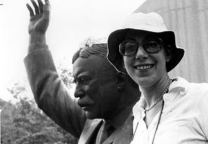 Lynda Zycherman, by Foster, Susan, 1978, Smithsonian Archives - History Div, 2002-32282.