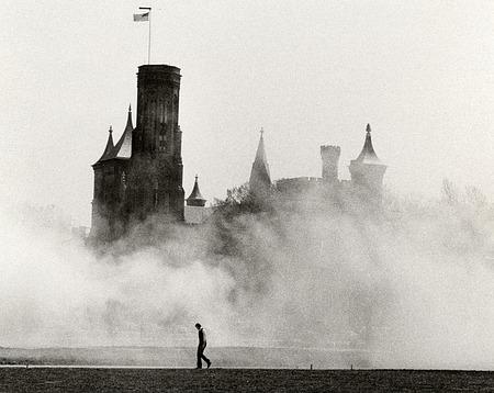 Castle Enshrouded by Mist