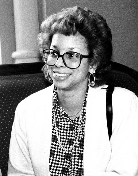 Shireen Dodson, by Nielsen, Kim, 1985, Smithsonian Archives - History Div, 2004-10341.