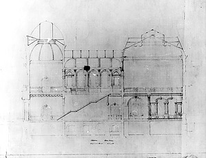 Architectural Drawing of Corcoran/Renwick