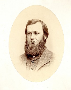 Portrait of Spencer Fullerton Baird