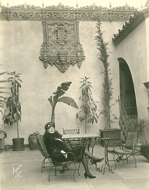 Alice Pike Barney at the Hollywood Playhouse