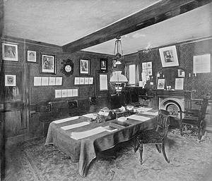 James Smithson's room at Pembroke College, Oxford College