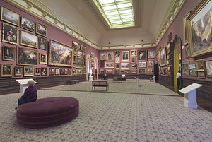 Renwick Gallery Grand Salon Reopens, June, 2000, June, 2000, Smithsonian Archives - History Div.