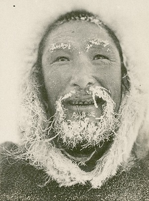 A Man from the Umingmaktormiut Tribe