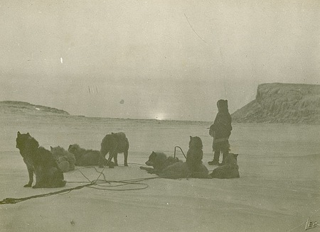 Sunrise After a Long Winter, by Hansen, Leo, 1924, Smithsonian Archives - History Div, 2005-8640.